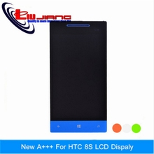 100% HTC 8S A620E LCD Display+Touch Screen Digitizer+Tools Blue Red Green White - Liujiang Store store
