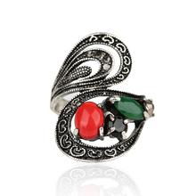 Retro Ring 2014 Fashion Classical Ancient Roman Bohemian Style Statement Exaggerated Rings Wedding Set For Women