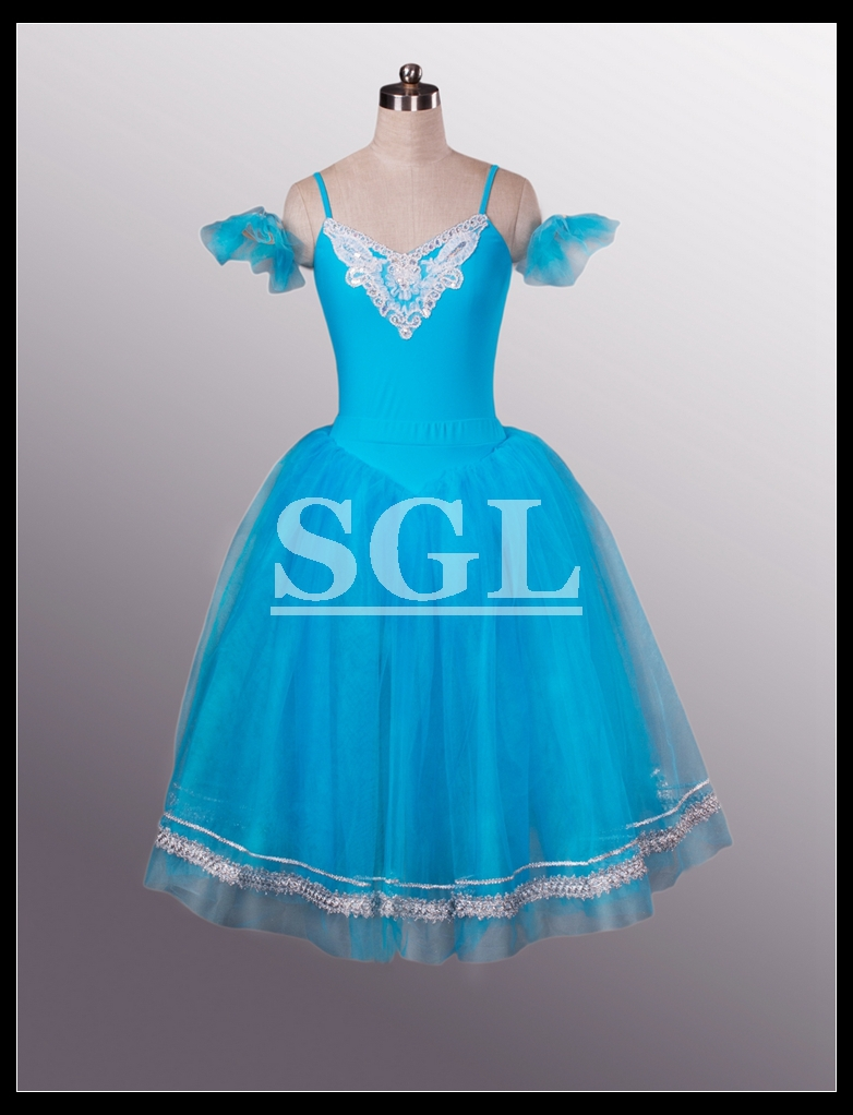 Long Tutus For Adults Free Shipping Adult Blue Long