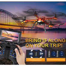 JJRC H11D 5.8G FPV 2.0MP HD Camera 2.4G 4CH 6Axis Headless Mode RC Quadcopter RTF Remote Control Helicopter One Key Return(China (Mainland))