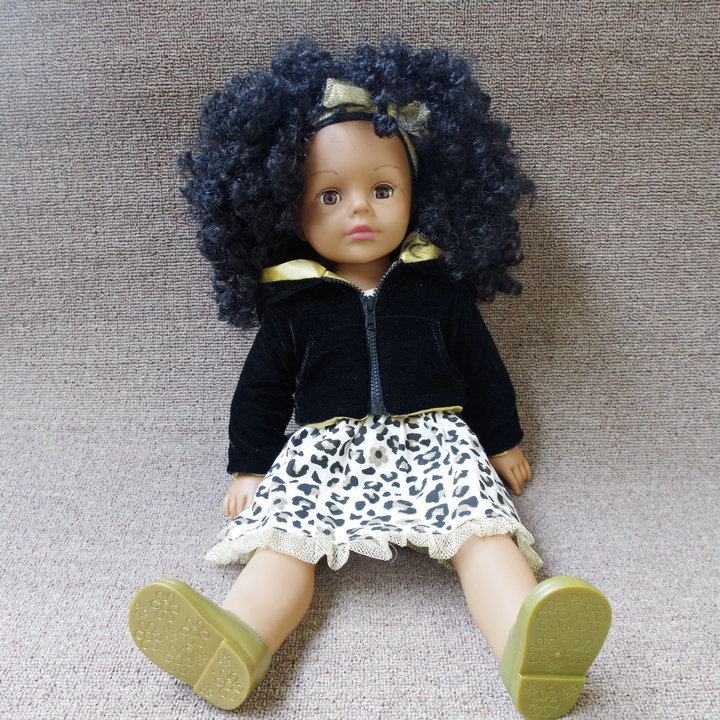 48CM American Girl Doll Journey Girl Doll with Clothes Silicone Lifelike Baby Doll Kids Toys New Year Merry Christmas Gift(China (Mainland))