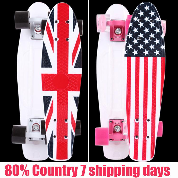 "New 2016 Original Graphic series 22"" Custom Peny Skateboard Retro Mini shape Skate long board cruiser longboard complete skates(China (Mainland))"