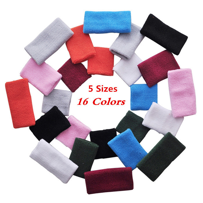 Wrist Support Tennis/Basketball/Badminton Sport Protector Pulseira Munhequeiras Sweatband Cotton Gym Wrist Guard 8*8cm Wristband(China (Mainland))