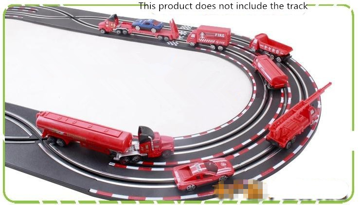 Early childhood gliding simulation alloy automobile, hearth truck mixtures scene mannequin,Free transport,Play home toys