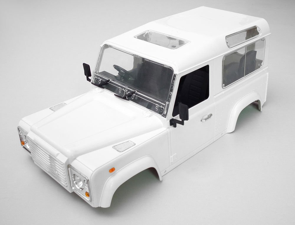1/10 Crawler car shell for Land Rover Body Shell for D90(China (Mainland))