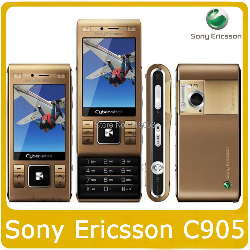 Мобильный телефон C905 Sony Ericsson C905 8MP GPS WIFI 3G GSM freeship мобильный телефон apple iphone 4s i4s 16gb 32gb ios 8 gsm wcdma 3g wifi gps 8mp 1080p 3 5