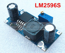 Ultra-small LM2596 power supply module DC / DC BUCK 3A adjustable buck module regulator ultra LM2596S 24V switch 12V 5V 3V(China (Mainland))