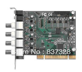 PCI Multi-Channel Video Capture Card BNC/CVBS/Audio(China (Mainland))