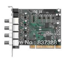 PCI Multi-Channel  Video Capture Card BNC/CVBS/Audio