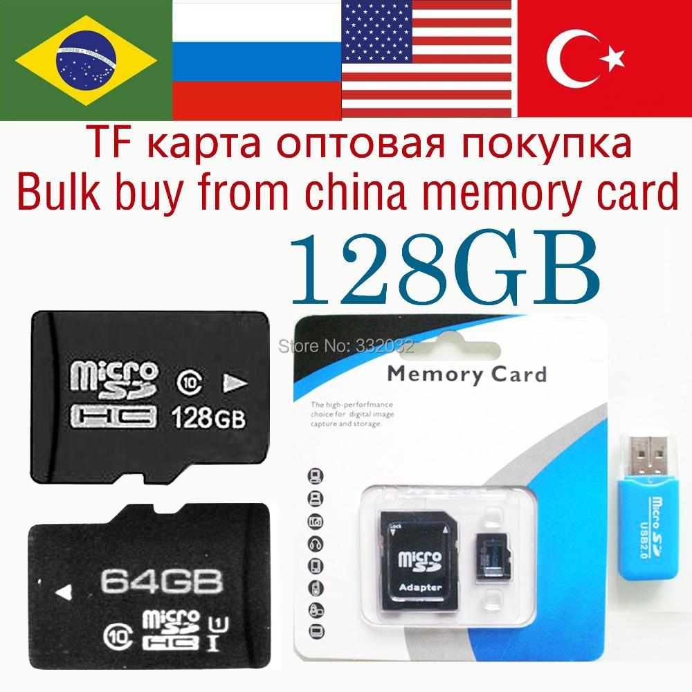 TF Card 128GB Memory card 64gb micro sd card micro sd 128gb class 10 flash card 32gb huge capacity free gift shipping 16gb(China (Mainland))