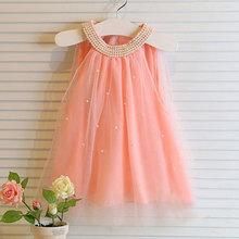 Vestidos 2015 summer cute infant baby clothing meisjes kleding tutu princess dress robe bapteme for baby girl birthday dresses(China (Mainland))