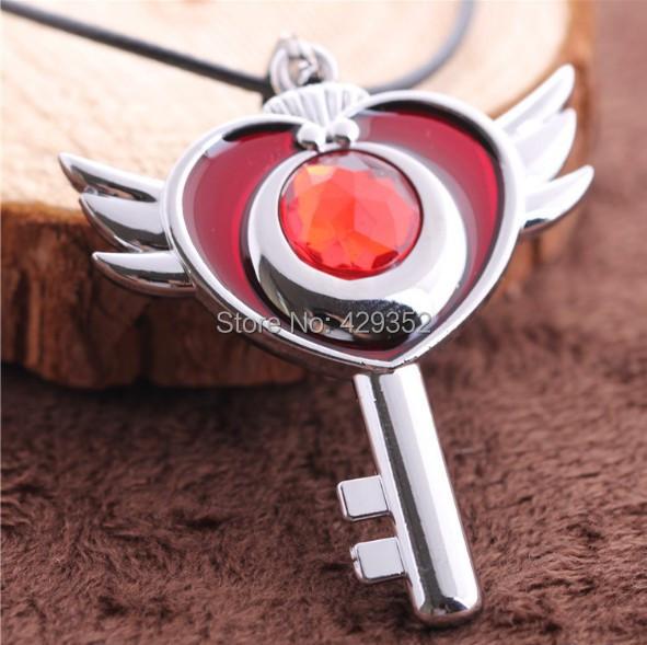 Wholesale 10pcs/lot Anime Jewelry Sailor Moon Import Rhinestone Pendant Necklace For Men/Women(China (Mainland))