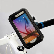 Waterproof Pouch Bag Case Bike Bicycle Mobile Cell Phone Holder For Samsung Galaxy S6 S6 Edge Holder(China (Mainland))