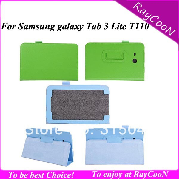 Samsung galaxy tab 3 T110 PU Leather protective Cover Case, 7 inch Tablet leather Stand cover,many color - RayCooN store