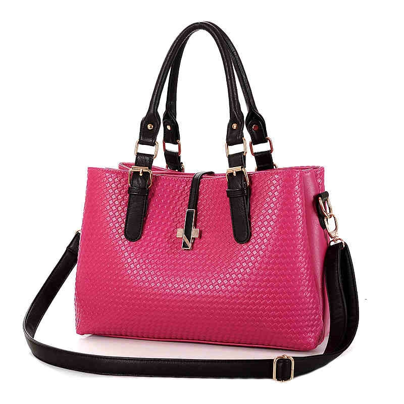 Top bag! 2015 new arrival trend of commercial women's fashionable casual handbag entresol women's embossed totes free shipping(China (Mainland))