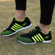 Men Shoes 2016 Wholesale Hot Sale Fashion  Mens Air Mesh Shoes High Quality Brand Casual Shoes flat Breathable shoes size 39-44(China (Mainland))