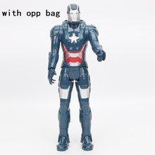 Brinquedos maravilha Vingador Endgame 30 centímetros Filme Super Hero thanos rman hulk thor Capitão América homem de Ferro homem Aranha Figura brinquedos modelo(China)