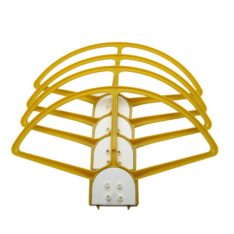 Yellow DJI Phantom 3 Quick Release Propeller Guard DJI Prop Protect Mount Adapter RC Helicopter Quadcopter Drone Parts Free Ship
