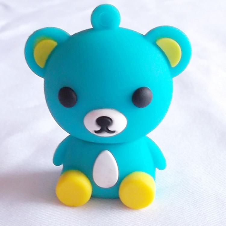 100% real capacity pen drive plastic teddy bear drive 4gb/8gb/16gb/32gb usb flash drive USB flash memory stickgift(China (Mainland))