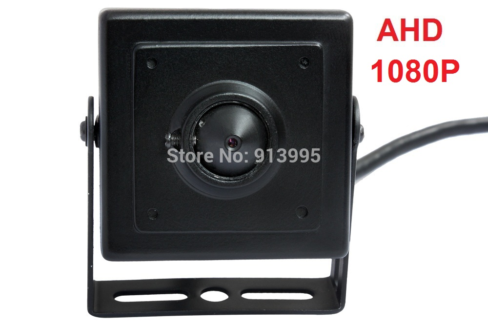 2MP Aluminum case AHD Sony322+2441H 1080P 40*40mm Mini ahd Camera security for ATM Machine(China (Mainland))