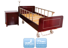 DW-BD187 Manual nursing adjustable bed with 2 functions(China (Mainland))