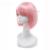 L-email парик 16 Цветов Моды для Женщин, Парики Из Жаропрочного Синтетического Волос плутон Розовый Зеленый Красный Фиолетовый Белый Короткий БОБ Парик