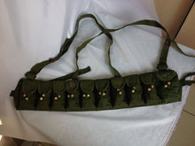 Surplus Chinese Military SKS Type 56 Semi Ammo Chest-Rig Bandolier Pouch- CN005(China (Mainland))