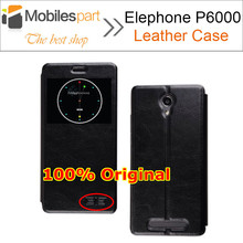 Elephone P6000 Case 100% Original Window View Protective Flip Leather Case Cover For Elephone P6000 Pro Free Shipping