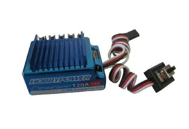 Hobbypower 120A V3 Brushless ESC for RC 1/10 1/12 Car Truck