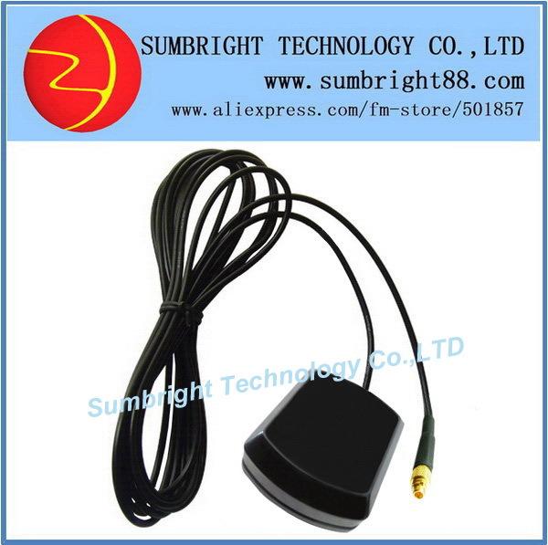 SB-CA119-MMCX-5M 200pcs*Best sale marine magnetic China gain navigation car 1575.42MHz active ceramic external MMCX GPS antenna(Hong Kong)