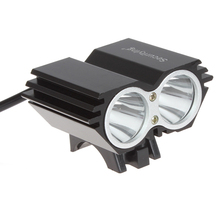 CREE XML U2 2800 Lumen LED Front Bike Light Bicycle Lamp Outdoor Flash Light With Rechargeable 2400mAh Battery Pack Charger