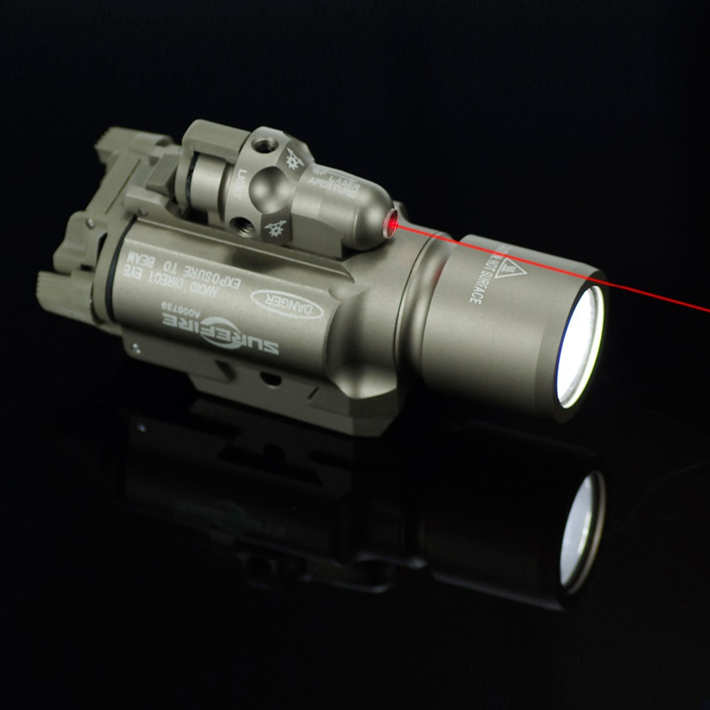 Red laser pointer all-metal waterproof glare LED infrared laser sight tactical hunting flashlight in one<br><br>Aliexpress