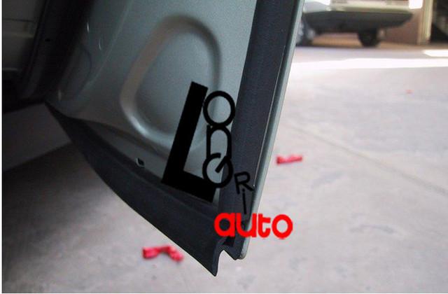 Autoparts Car  Door Rubber Seal Strip Weatherstrip Seals For New Reiz E130 E140 P Type 1M