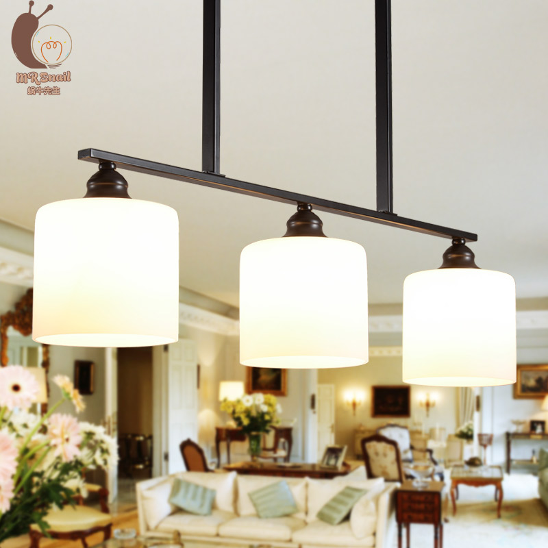 American country buffet meals chandeliers Rural droplight three bedroom Mediterranean restaurant dining room lighting(China (Mainland))