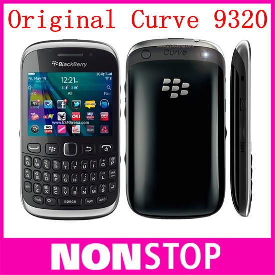 Original BlackBerry Curve 9320 Unlocked mobile Phone 3.15MP GPS GSM 3G WIFI Bluetooth Free Shipping(China (Mainland))
