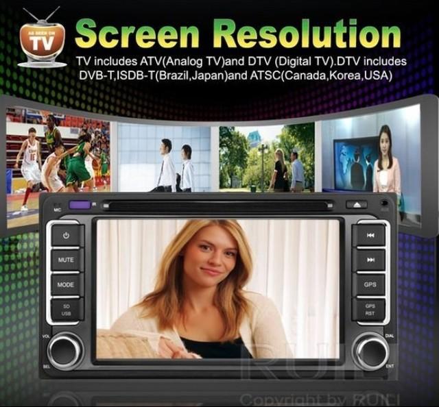 2013 New Toyota universal Car DVD 2 din  Free IGO or  Navitel map