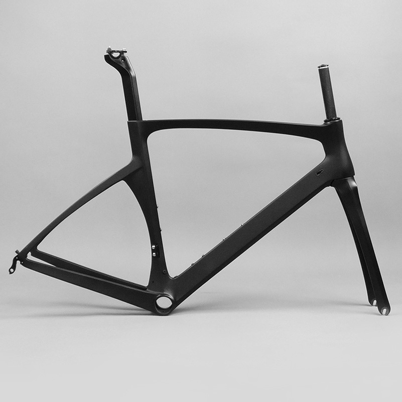 2017 Road Carbon Frame Bike UD Matte Bicycle Frame Carbon BB30 BSA Cheap Carbon Frame Road Bike X Brake Frameset Cycling Parts(China (Mainland))