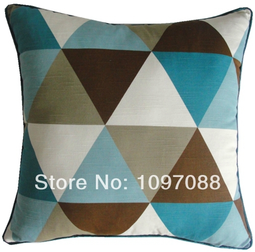 modern brief pillow cushion belt decoration covers geometic linen cover sofa decorative throw - Dreams Happen's Shop store