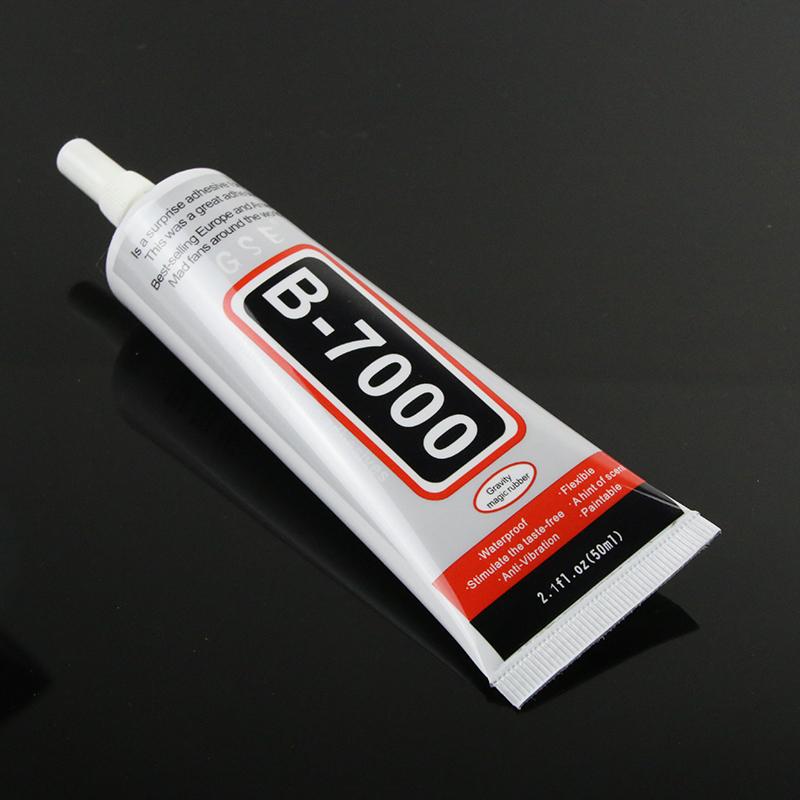 Best B7000 Glue 50ml Multi Purpose B-7000 Adhesive Jewelery Epoxy Resin Diy Jewelry Crafts Glass Touch Screen Cell Phone Repair(China (Mainland))