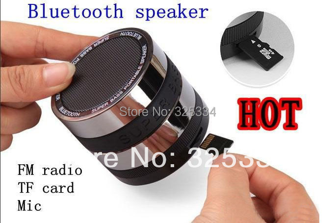 Super Bass Hifi Stereo Wireless Bluetooth Speaker Subwoofer Loudspeakers Boombox Sound box retail package DHL free shipping(China (Mainland))