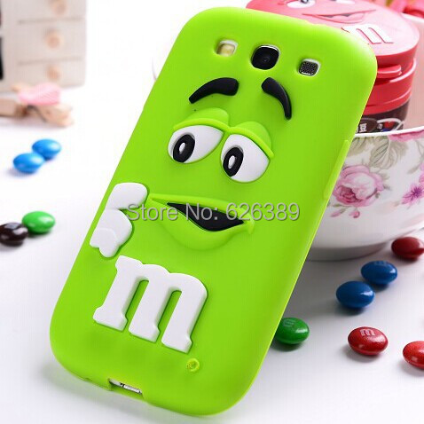 For samsung galaxy s3 case i9300 MMS Chocolate candy soft rubber cell phone back defender cover(China (Mainland))
