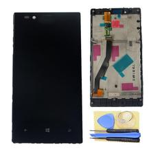 For Nokia Lumia 720 LCD Display +Touch Screen Digitizer Assembly With Frame +Tools