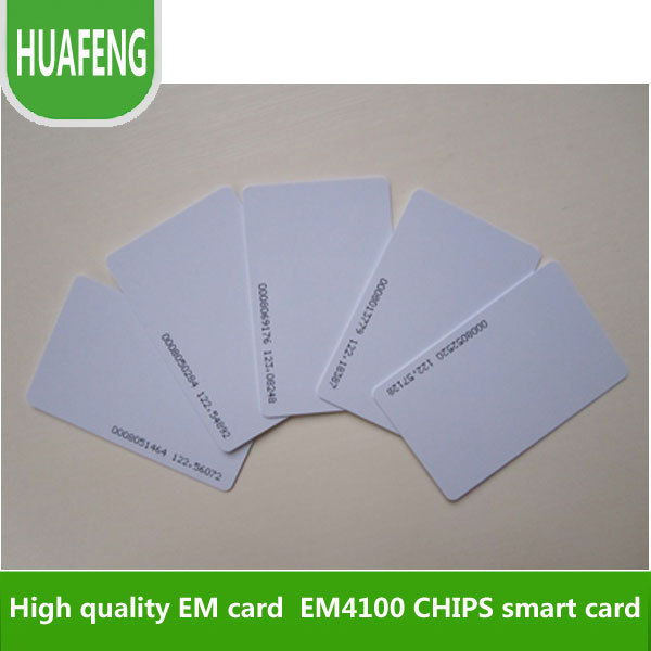 Free shipping by DHL ,rfid card, RF proximity  EM card  with 125kHz,0.8mm thin card, +min:500pcs