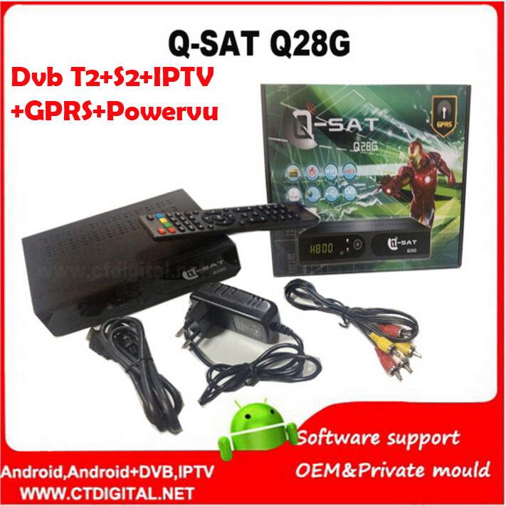 Здесь можно купить  Factory 2015 Newest q-sat q28g qsat q28g q-sat q28 hd gprs receiver open English and French channels and Dvb-T2 combo q sat q26g Factory 2015 Newest q-sat q28g qsat q28g q-sat q28 hd gprs receiver open English and French channels and Dvb-T2 combo q sat q26g Бытовая электроника