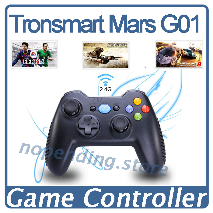 NEW Tronsmart Mars G01 2.4GHz Wireless Gamepad Game Controller For PlayStation 3 PS3 Joystick Android TV Box Windows Kindle Fire(China (Mainland))