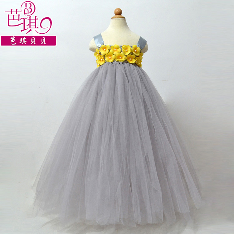 Flower Girl Tutu Dress Baby Girl Wedding Dress Hot New Infant Baby Girl Tutu Dress Vestidos Kids Ball Gown Dresses For Prom Bow<br><br>Aliexpress