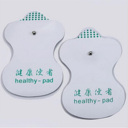 2015 Hot 20pcs/10Pairs White Electrode Pads For Tens Acupuncture Digital Therapy Machine Massager Tools Free Shipping Wholesale(China (Mainland))