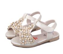 2016 hot summer fashion antiskid han edition flower children sandals(China (Mainland))