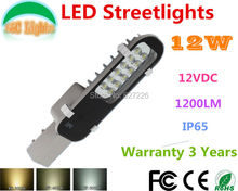 Factory Direct Selling 12W LED Street Lights dc 12V 24V IP65 Garden Lights,Warranty 3 years,CE RoHS Landscape lamp 10 PCs a lot(China (Mainland))