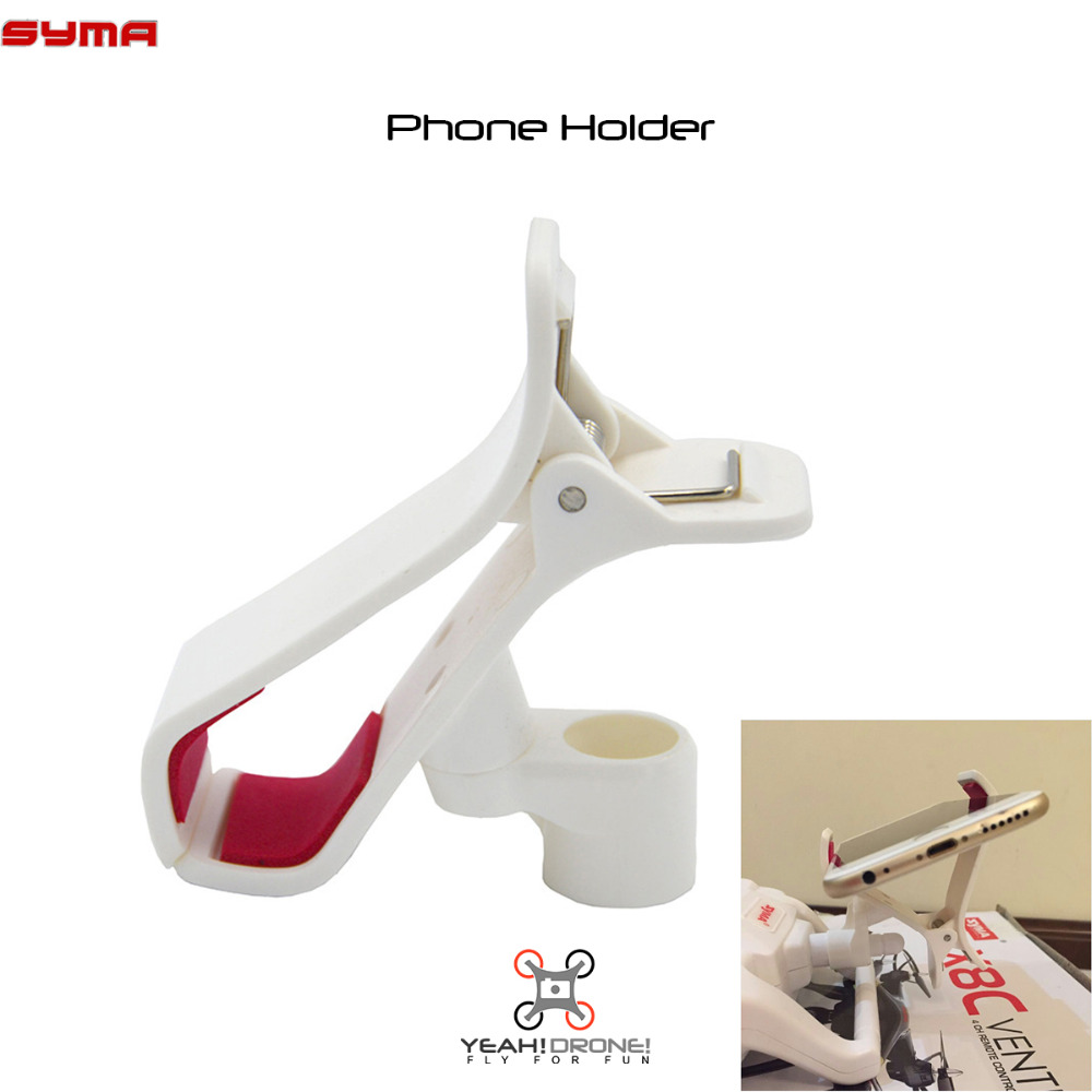 Mobile Phone Holder Clip Mount for SYMA X8W X8C X8G Quadcopter Parts Accessory Drone Spare Parts(China (Mainland))
